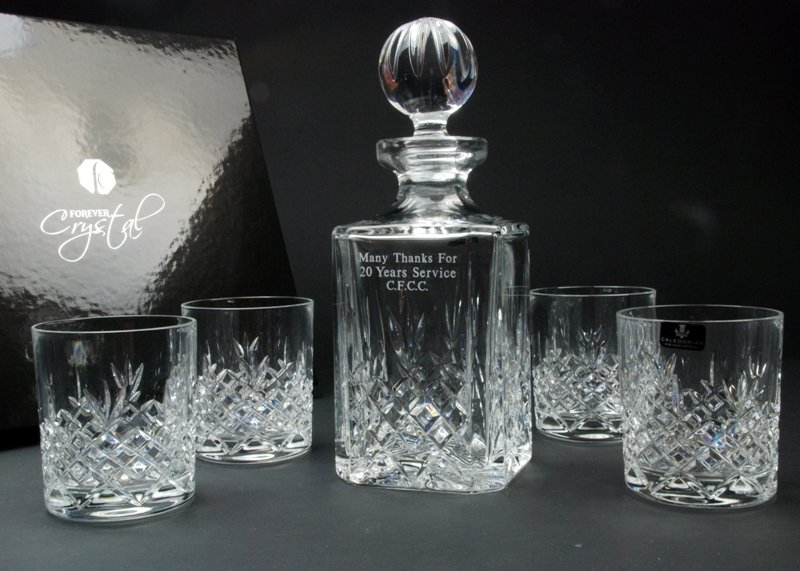 Engraved Decanter Sets
