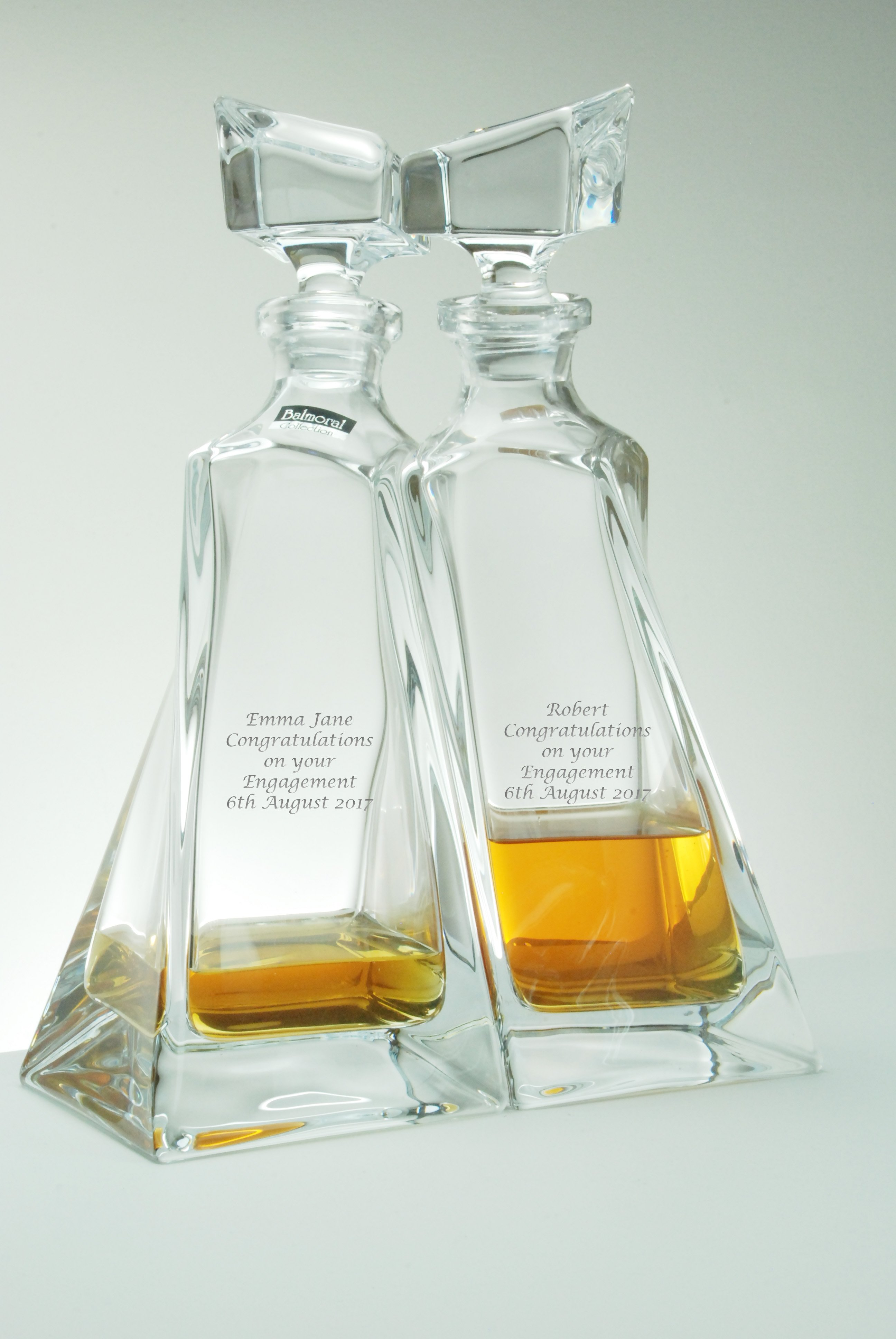 Personalised Decanters