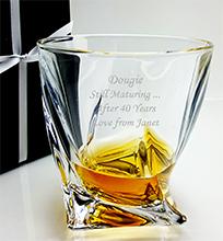 Engraved Whisky Glasses