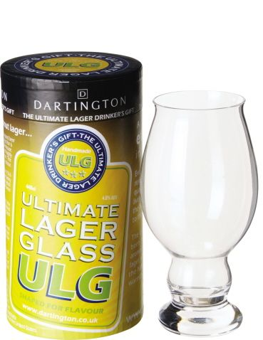 Dartington Lager Glass & Mat