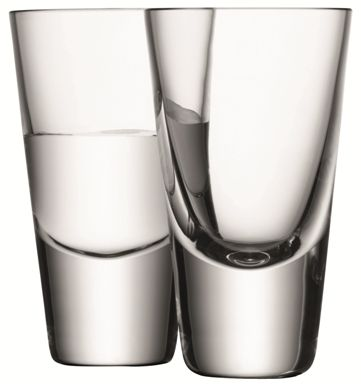 LSA Bar Vodka Glasses | Set of 4
