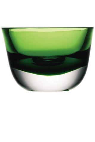 LSA Cased-Lime Glass Tealight Holder
