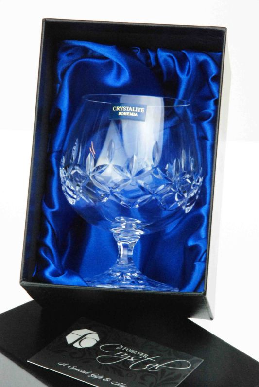 Single Admiralty Crystal Brandy Glass in Presentation Box