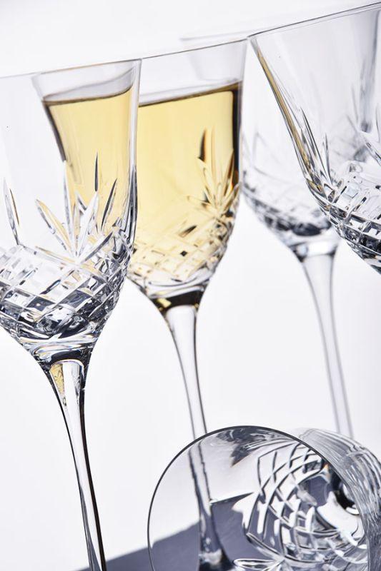 Blenheim Crystal White Wine Glasses