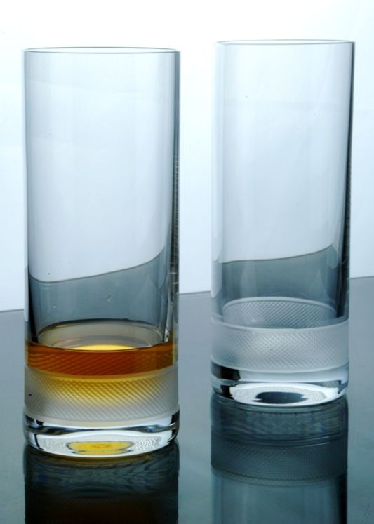 Diamond Crystal Highball Tumblers | Set of 6