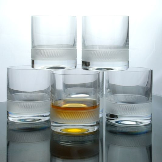 Set of 6 Diamond Lead Free Spirit Tumblers