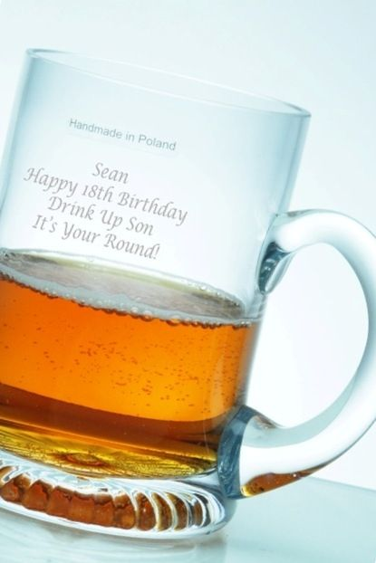 Personalised Classic Star Base Beer Tankard