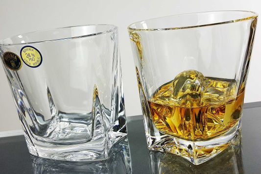 Kathrene Crystal Whisky Tumbler by Boehmia
