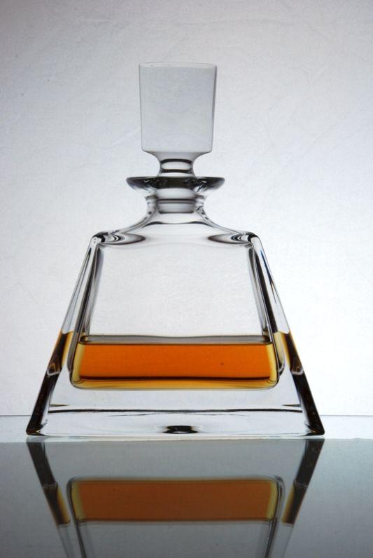 Kathrene Crystal Wide Spirit Decanter