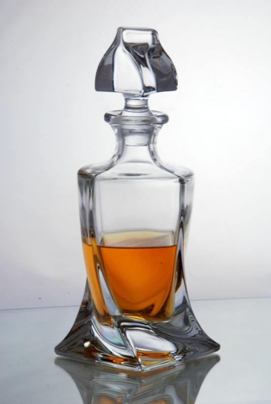 Contemporary Quadro Spirit Decanter | Presentation Boxed
