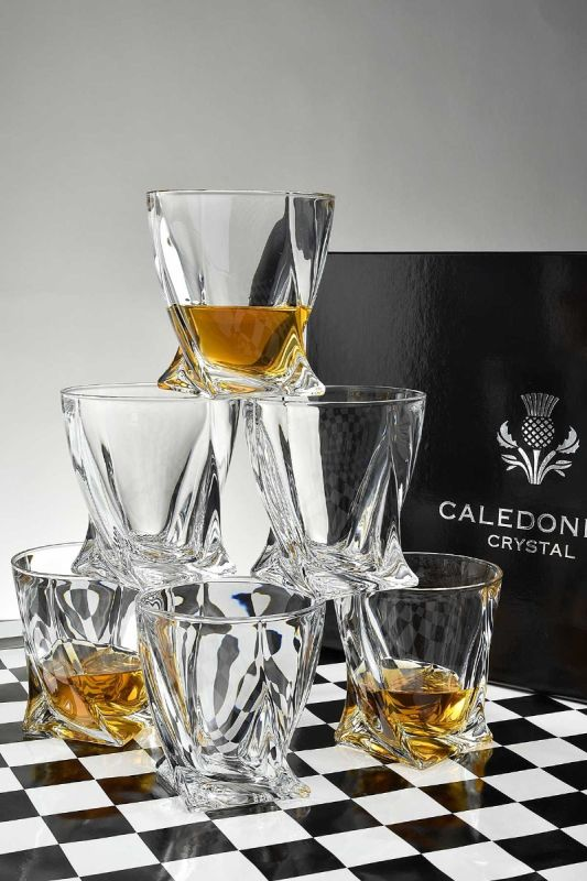 Quadro Whisky Tumbler Gift Set