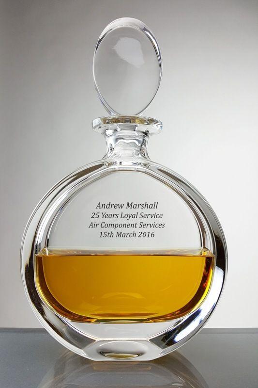 Personalised Severn Crystal Spirit Decanter