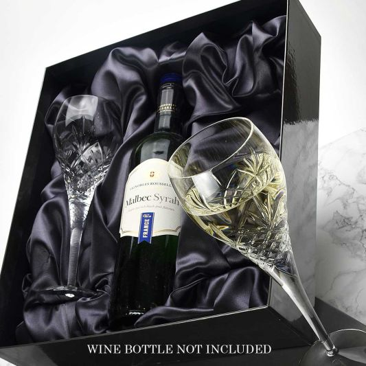 Speymore Crystal White Wine Presentation Boxed Pair