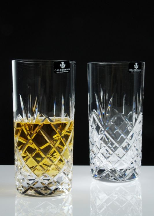 Speymore Crystal Highball Tumblers | Gift Boxed Pair