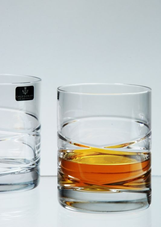 Taymore crystal Whisky Glass Gift Boxed Pair